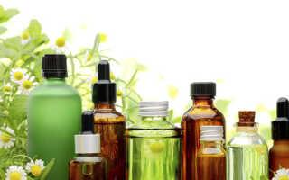 Лечение насморка эфирными маслами