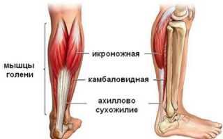 Боль выше пятки сзади сухожилие как лечить