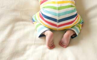 Сыпь у ребенка на попе как лечить