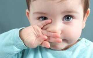 Чем лечить месячного ребенка от кашля и насморка