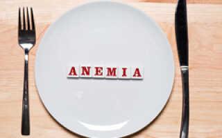 Лечение анемии легкой степени