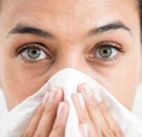 Вода из носа причины как лечить