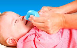 Заложенность носа лечение у грудничка