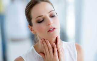 Болит горло на ранних сроках беременности чем лечить