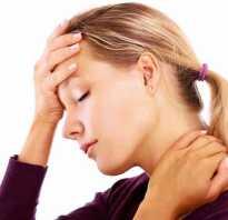 Остеохондроз головы симптомы и лечение