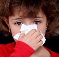 Течет из носа у ребенка чем лечить