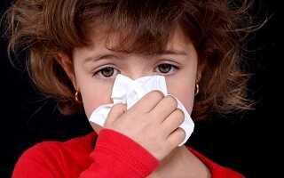 У ребенка из носа течет вода как лечить
