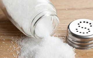 Как солью лечить суставы солью?
