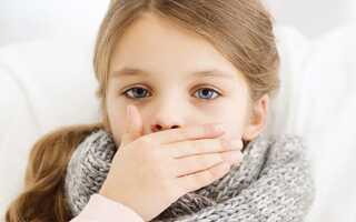 Сухой кашель при орви у ребенка чем лечить