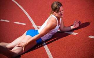 Спазм задней поверхности бедра причина лечение