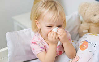 Желтые сопли у ребенка и кашель лечение