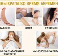 Храп у беременных женщин причины и лечение