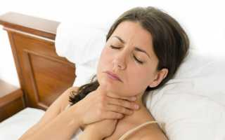 Чем лечить горло тонзиллит
