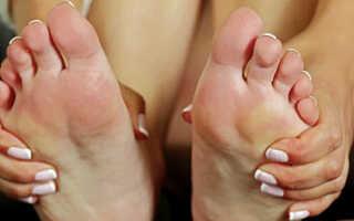 Пекут стопы ног причина и лечения