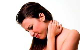 Воспаление мышц шеи и плеча симптомы и лечение