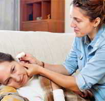 Отит у взрослого лечение дома